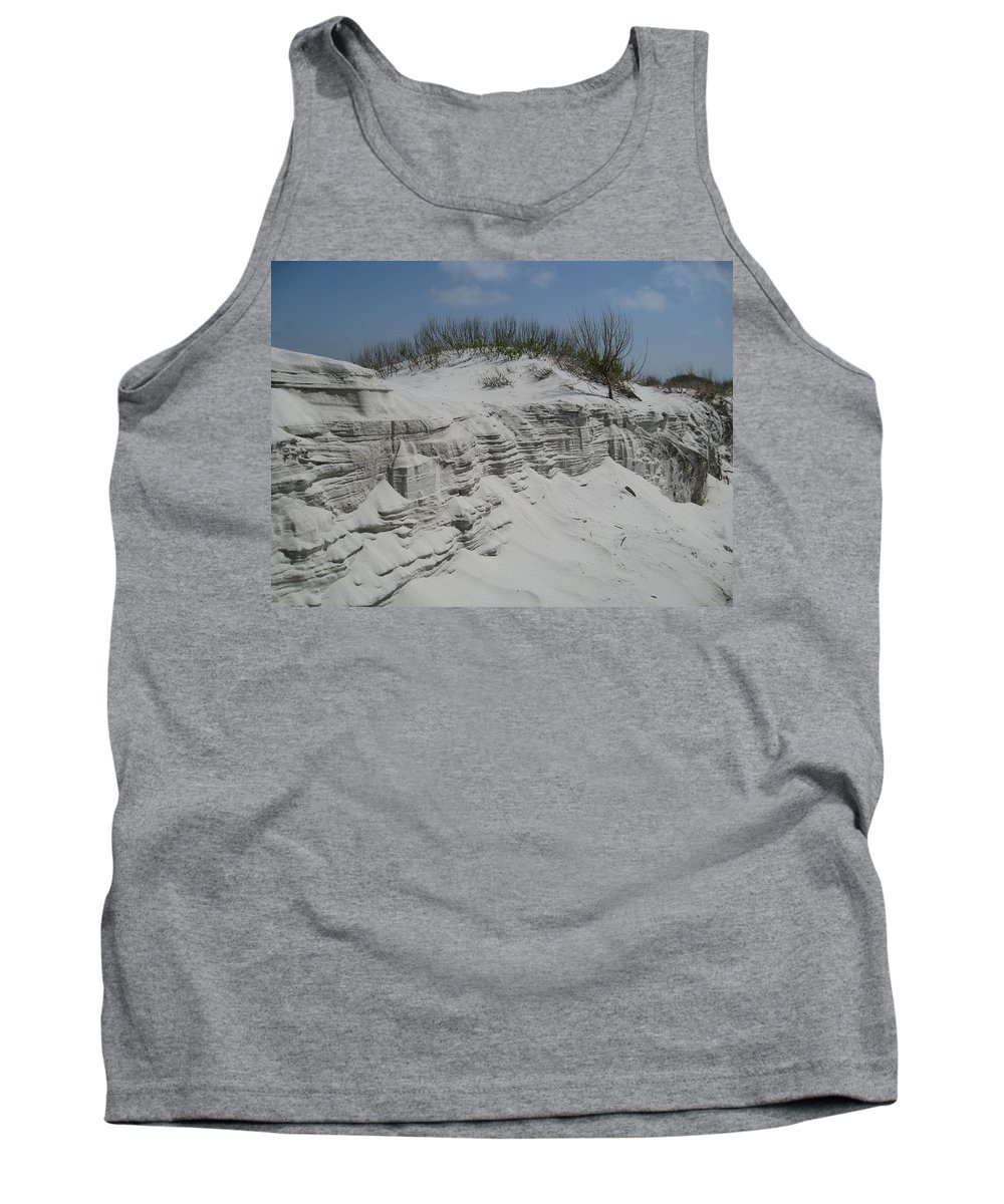 Sand Tank Top featuring the photograph On Sand Island by David Mayeau