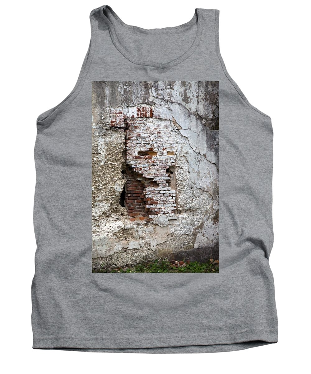 4402 Tank Top featuring the photograph Once A Window by Gordon Elwell