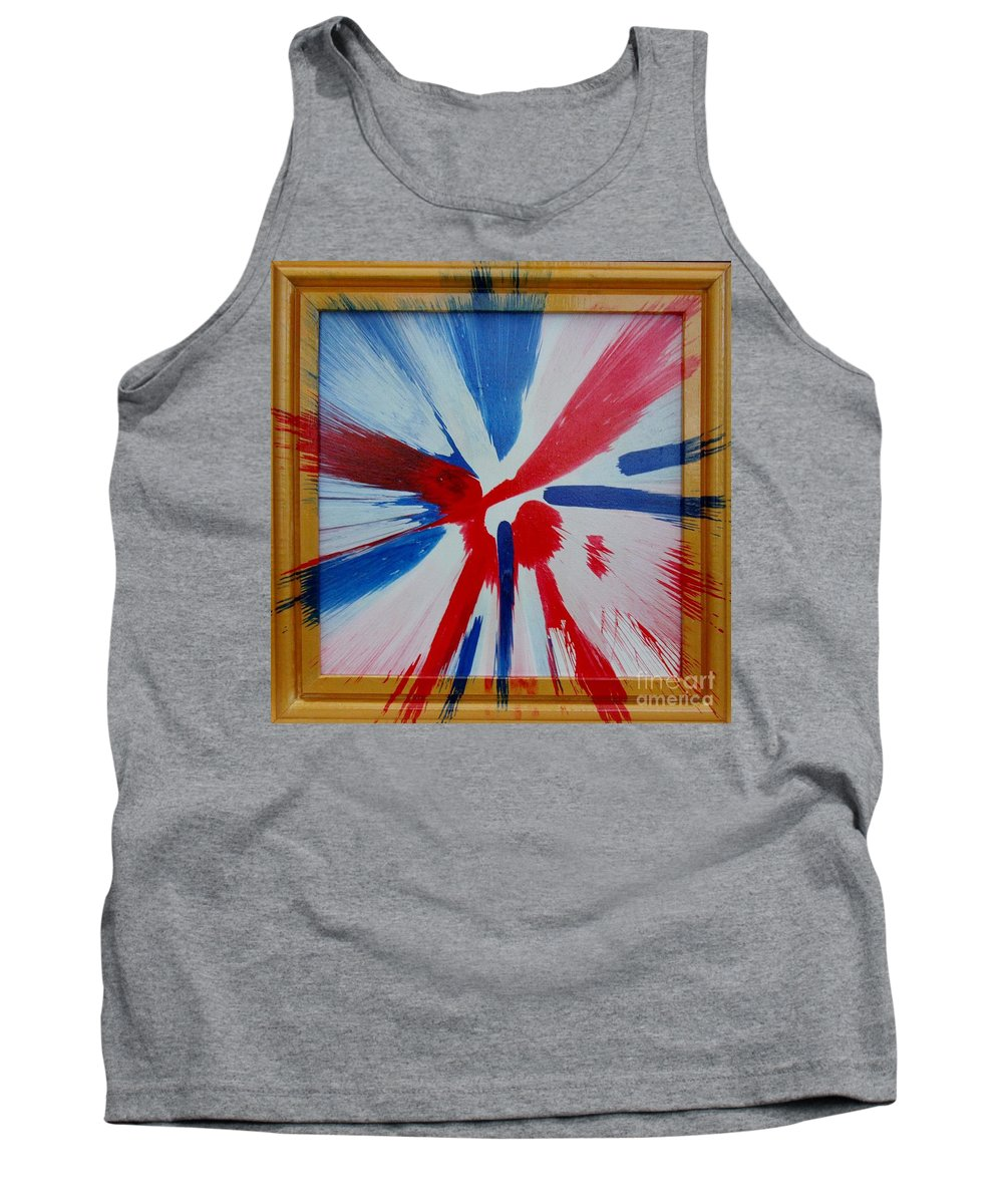 Oops Tank Top featuring the painting Oops by Gary Hogben
