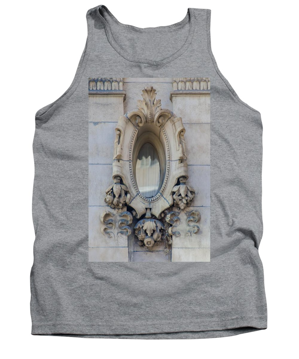Guy Whiteley Photography Tank Top featuring the photograph Oval Window by Guy Whiteley