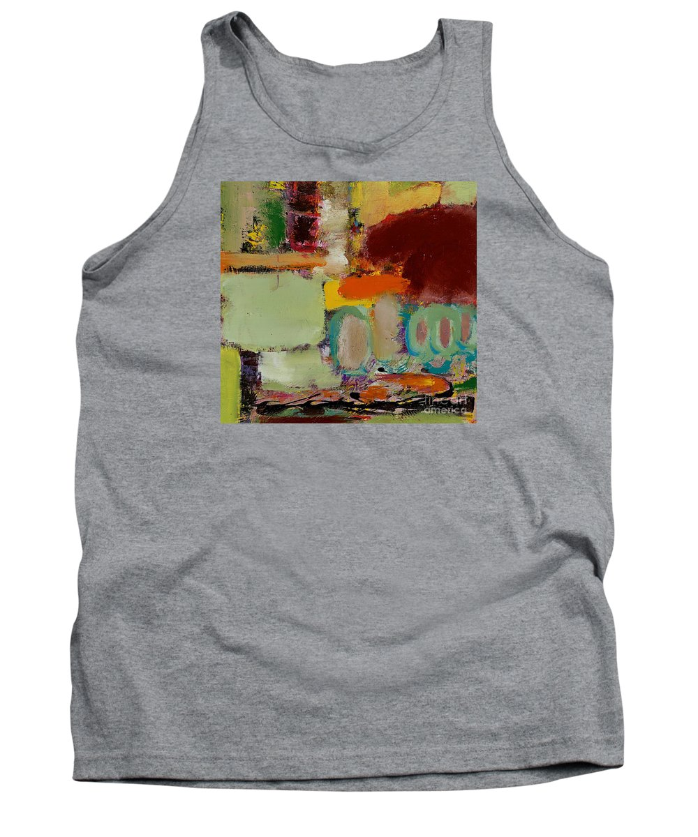 Landscape Tank Top featuring the painting Over There by Allan P Friedlander