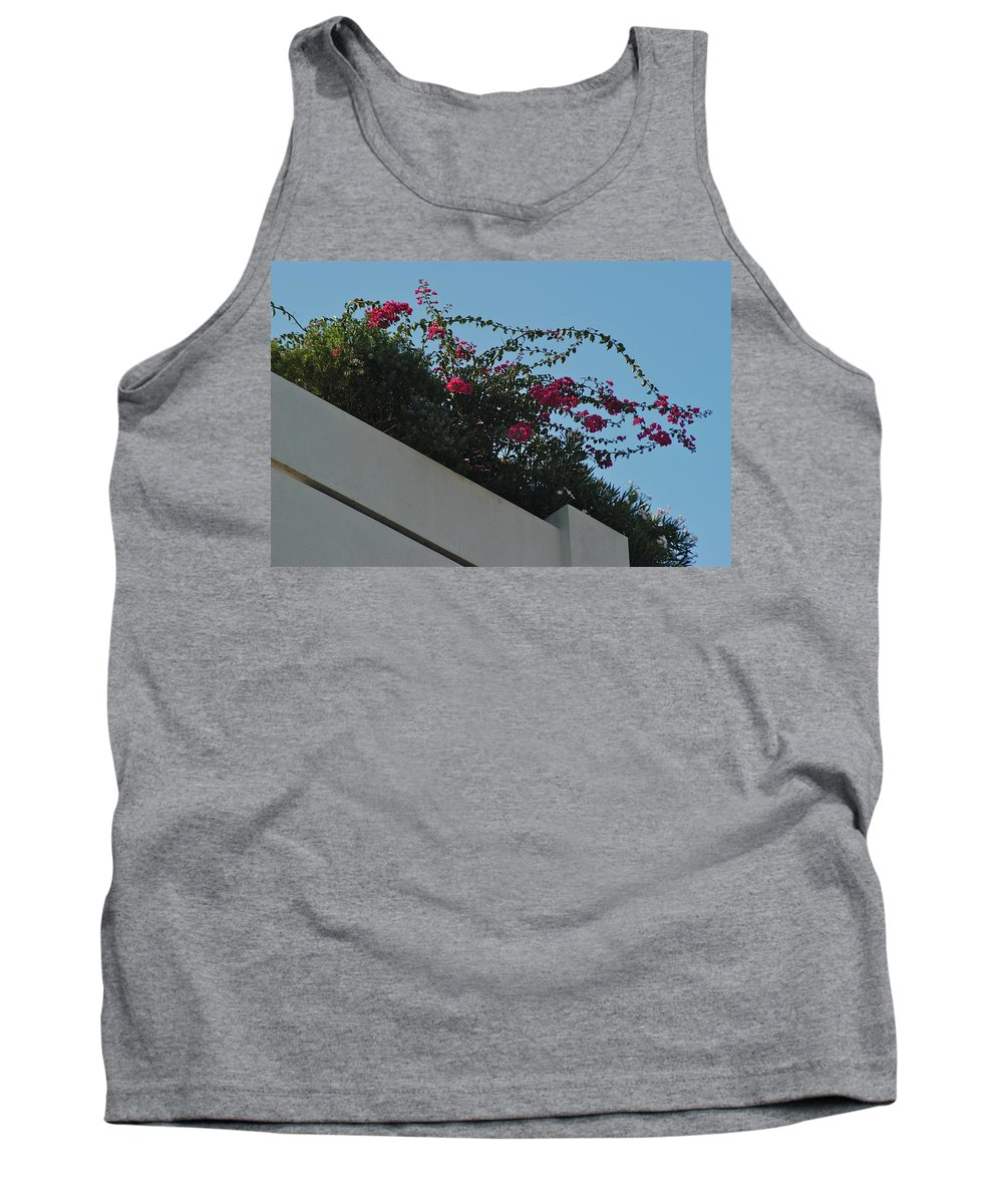 Architecture Tank Top featuring the photograph Overlook by Joseph Yarbrough