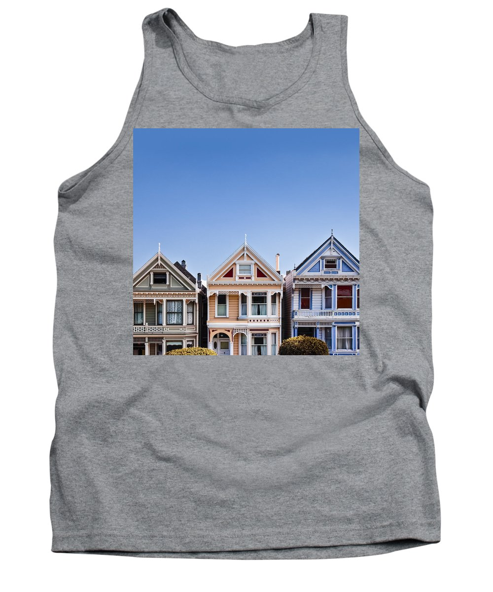 Painted Ladies Tank Top featuring the photograph Painted Ladies by Dave Bowman