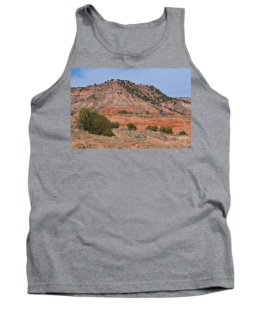 Palo Duro Canyon Tank Top featuring the photograph Palo Duro Canyon 040713.02 by Ashley M Conger
