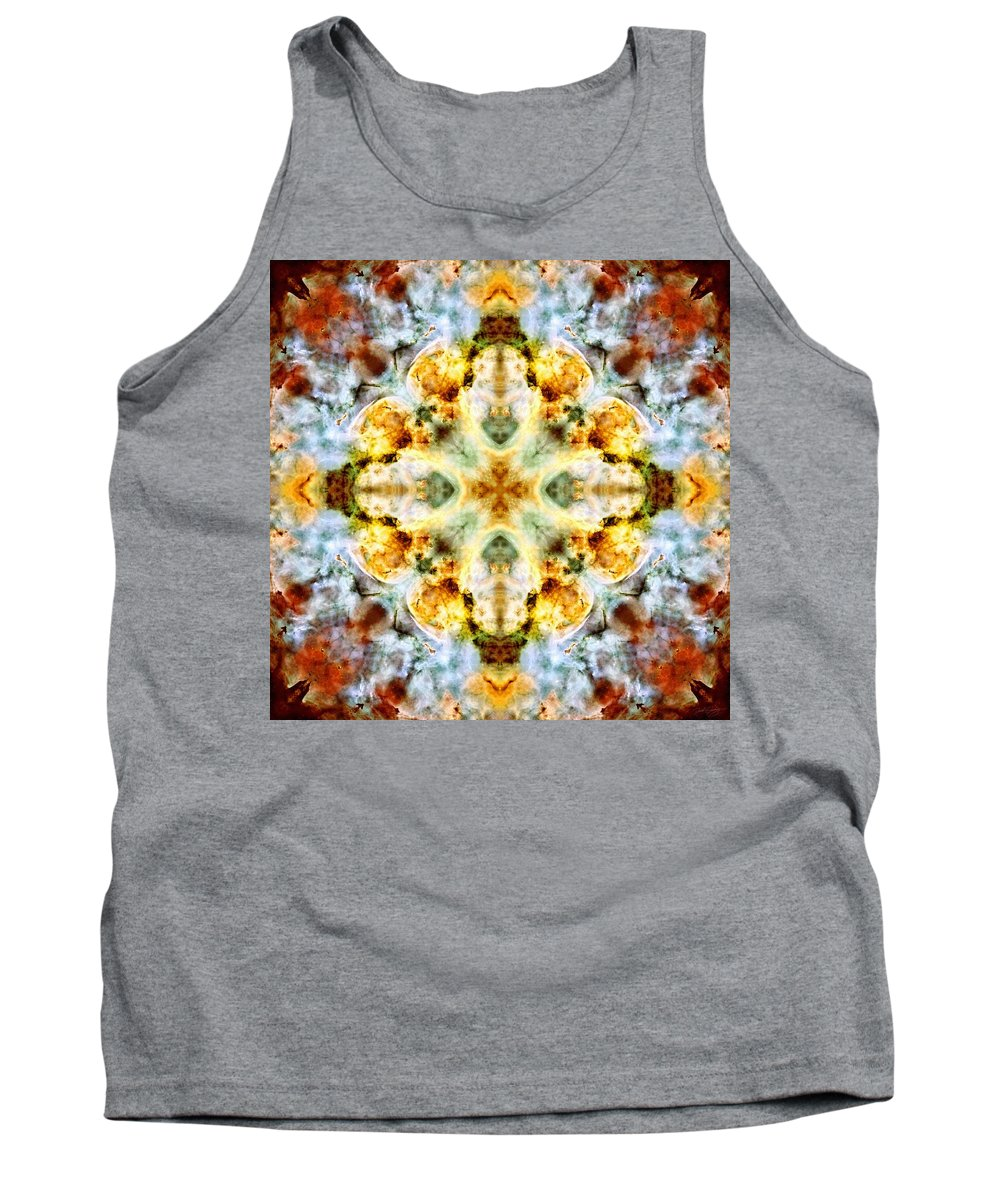 Panorama Carina Nebula V Tank Top featuring the photograph Panorama Carina Nebula V by Derek Gedney