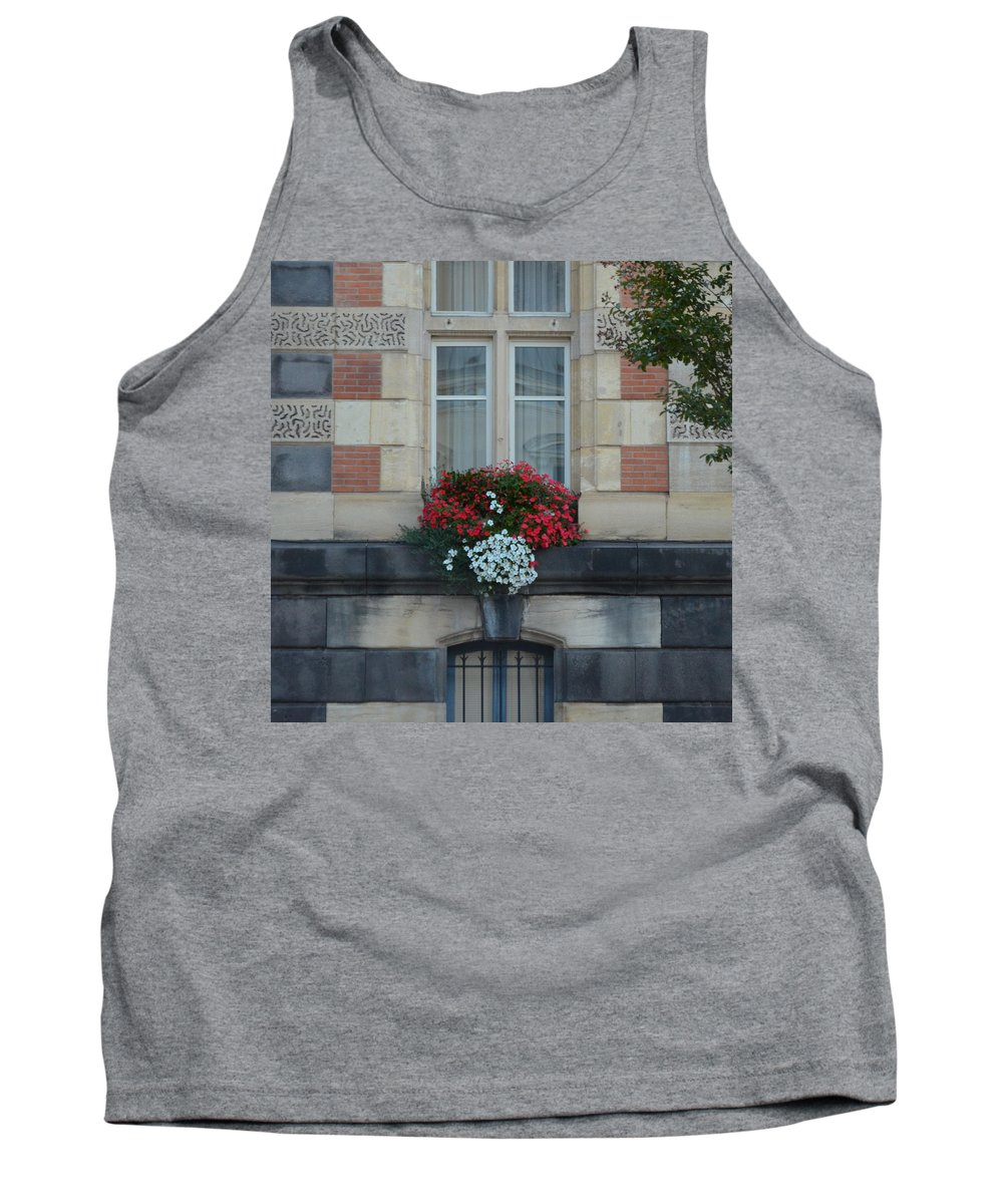 Paray Le - Monial Tank Top featuring the photograph French Stone by Cheryl Miller
