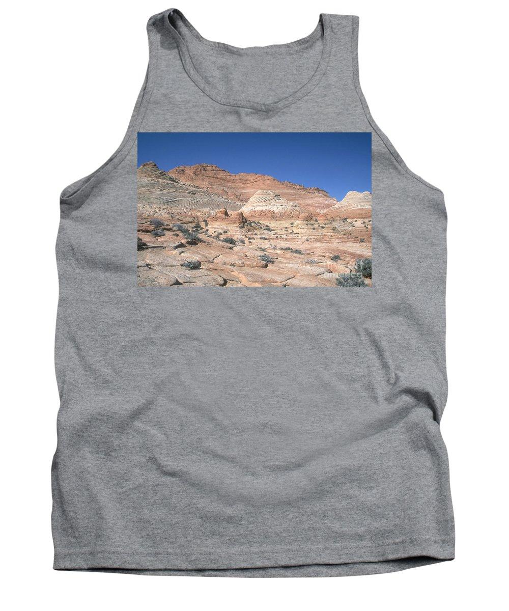 Sandstone Tank Top featuring the photograph Paria Canyon-vermilion Cliffs by David Davis