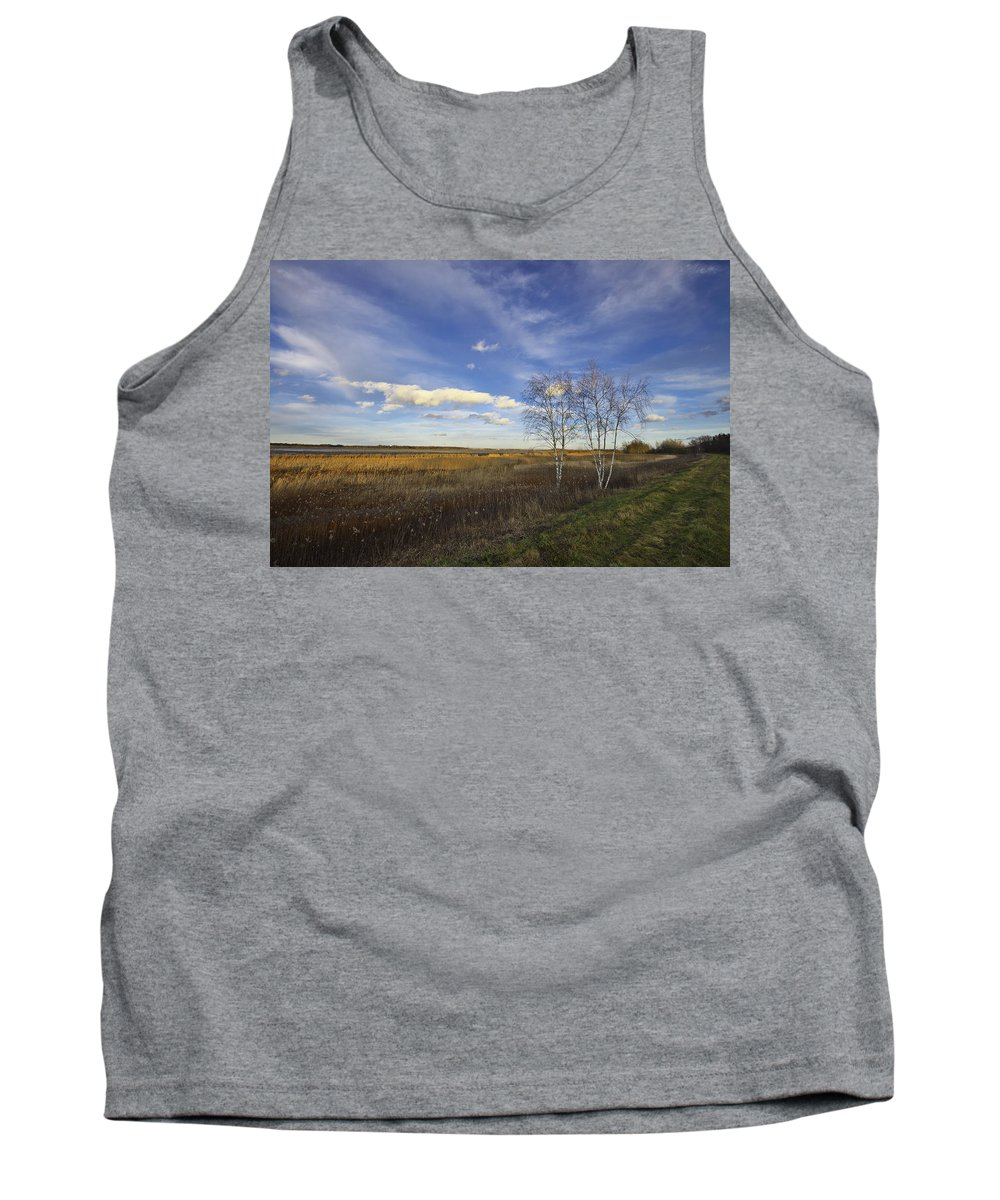 Landscape Tank Top featuring the photograph Peaceful Countryside by Ivan Slosar