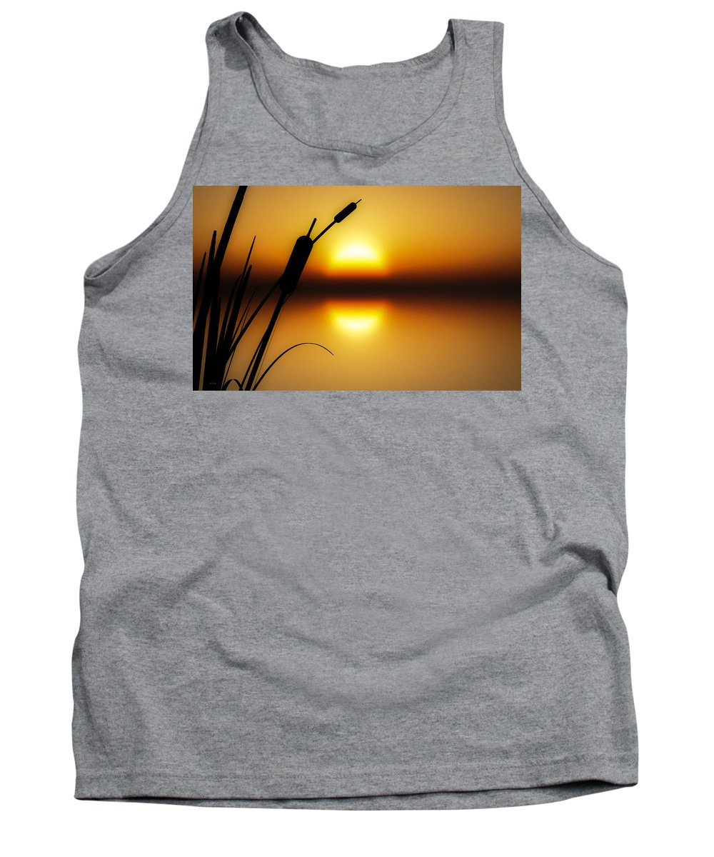 Tranquil Tank Top featuring the photograph Peaceful Dawn by Bob Orsillo