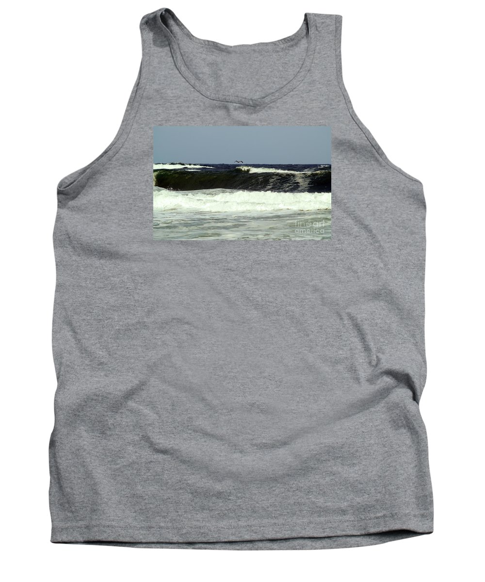 Fine Art Print Tank Top featuring the photograph Pelican Sighting by Patricia Griffin Brett