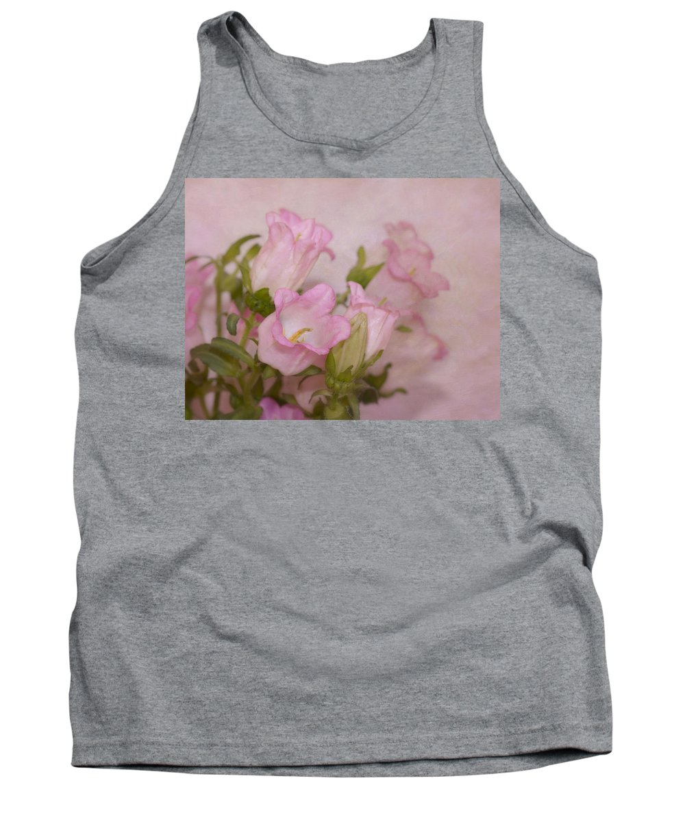 Flower Tank Top featuring the photograph Pink Bell Flowers by Kim Hojnacki