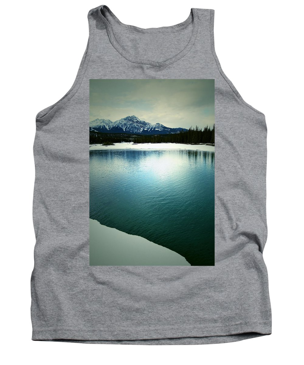 Mountains Tank Top featuring the photograph Placid Hills by The Artist Project