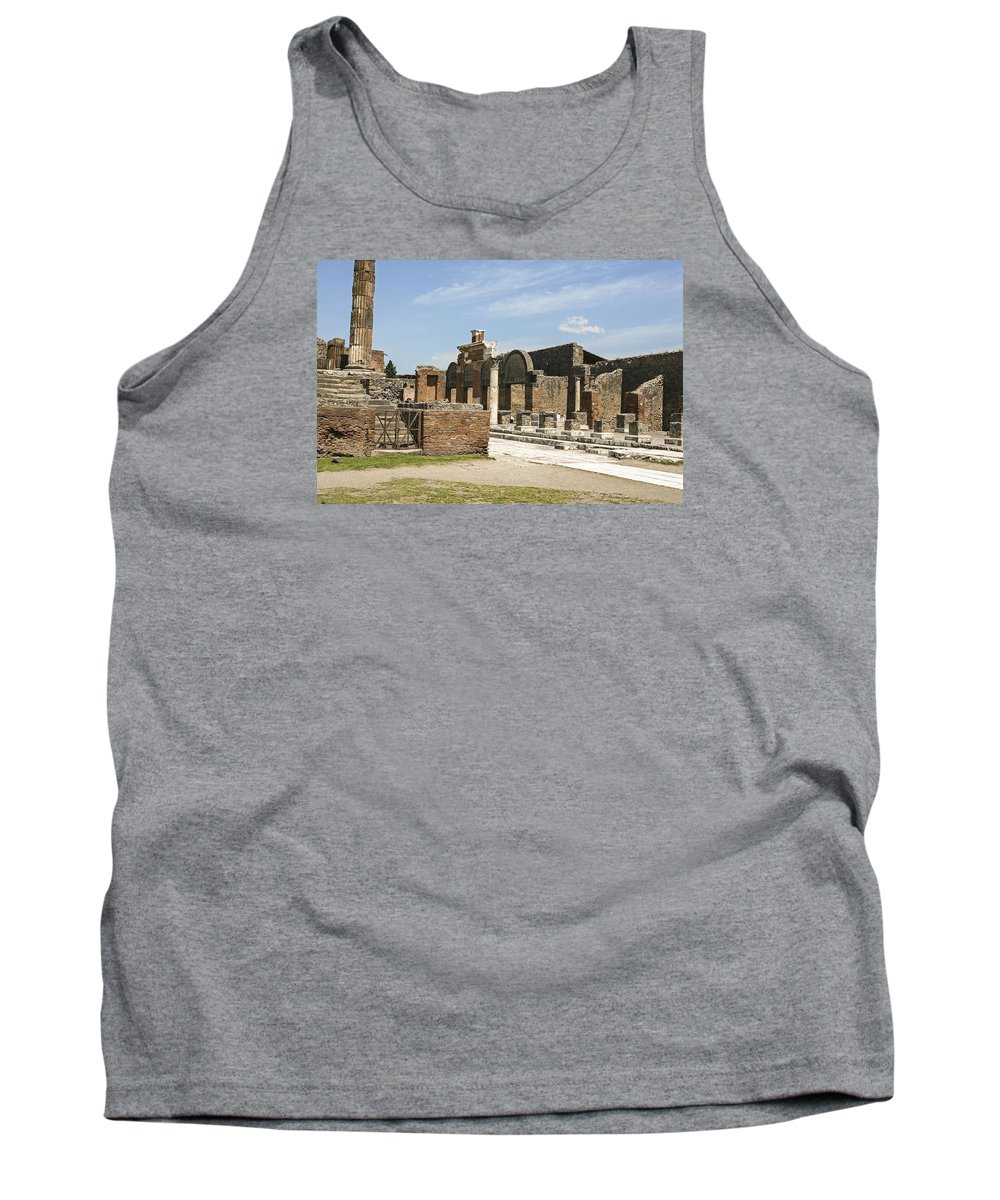 Italy 2014 Tank Top featuring the photograph Pompeii 3 by Eric Swan