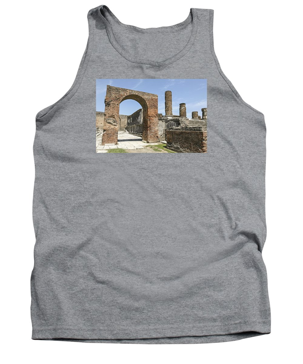 Italy 2014 Tank Top featuring the photograph Pompeii 6 by Eric Swan
