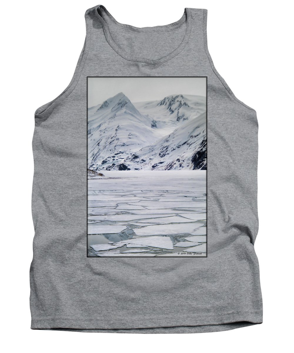 Landscape Tank Top featuring the photograph Portage Lake by Erika Fawcett