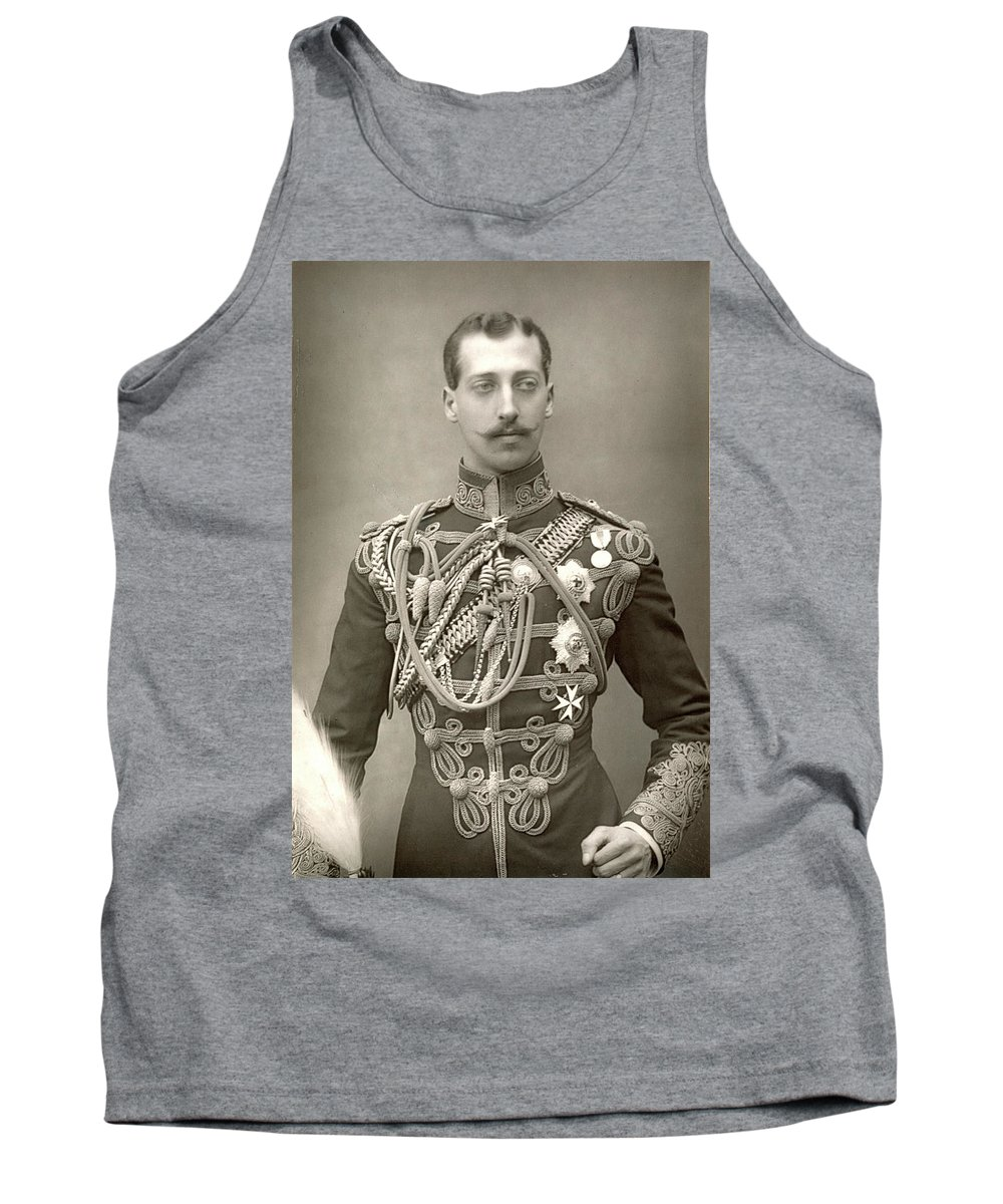 1890 Tank Top featuring the photograph Prince Albert Victor by Granger