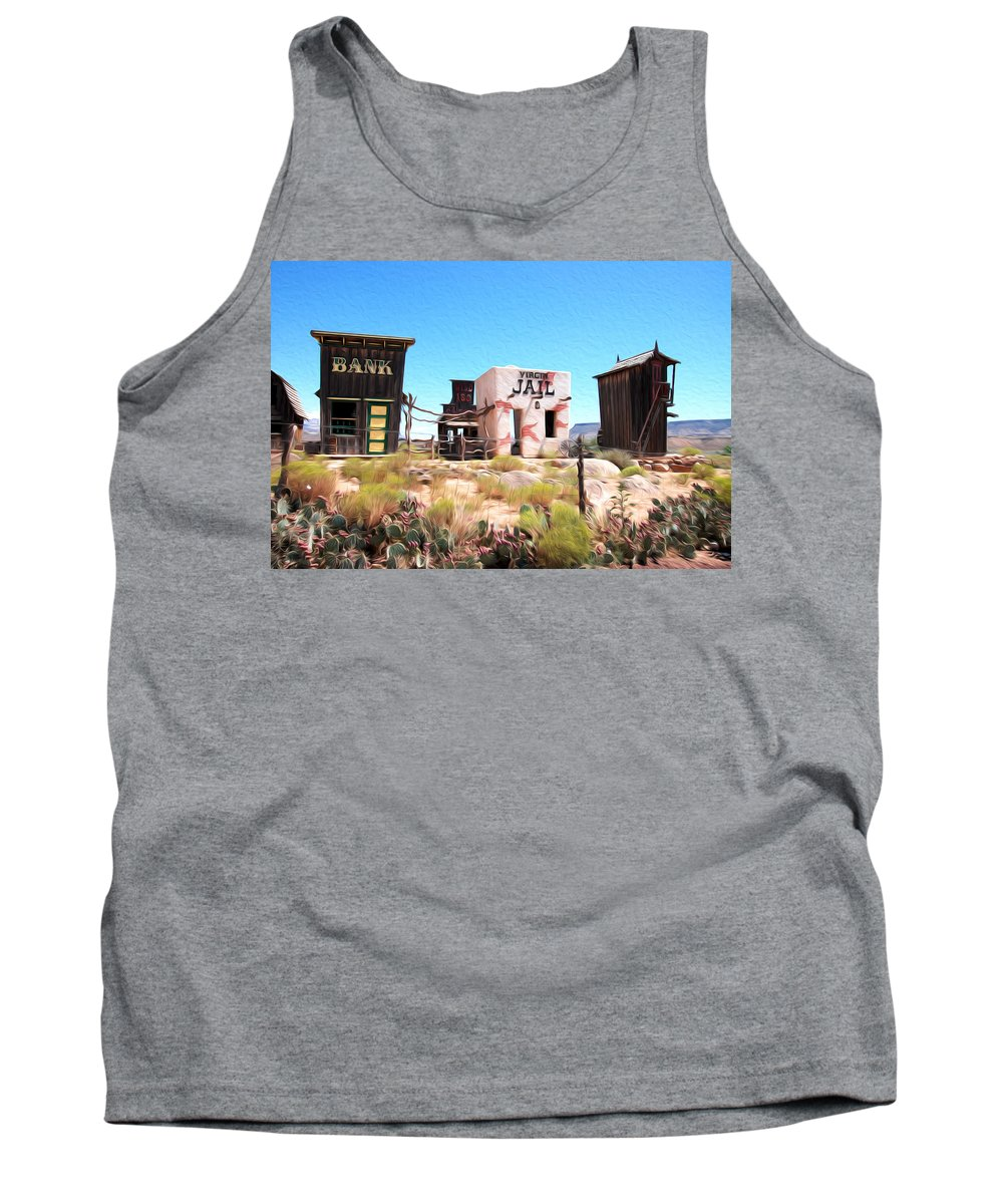 Utah Tank Top featuring the photograph Random View In Utah by Tracy Winter