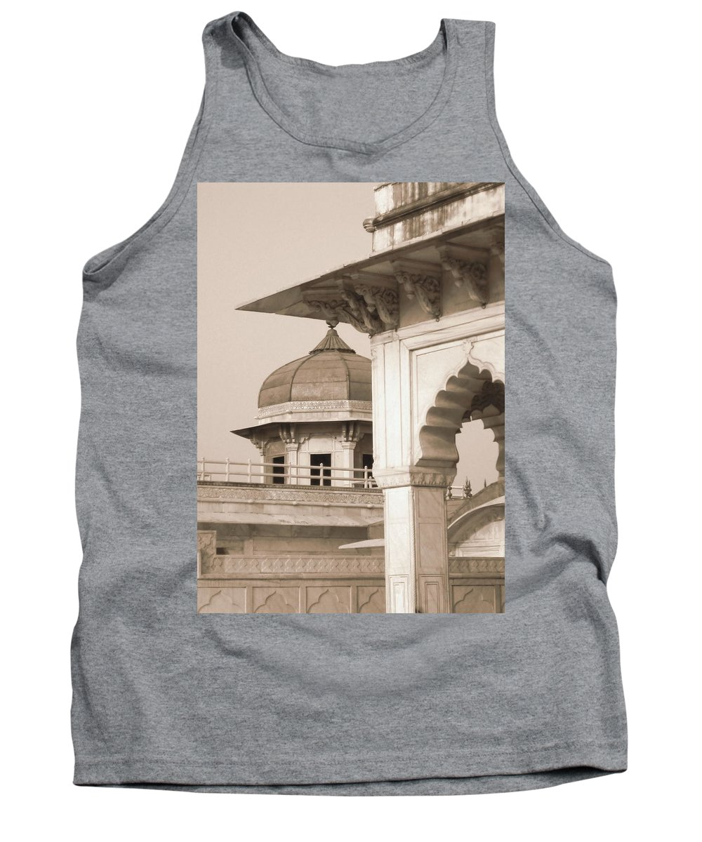 Arches Tank Top featuring the photograph Red Fort by Mary Pille
