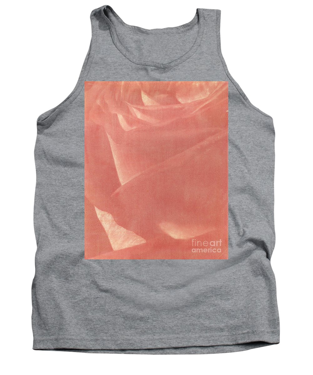 Rose Tank Top featuring the photograph Reddish Rose by Casper Cammeraat