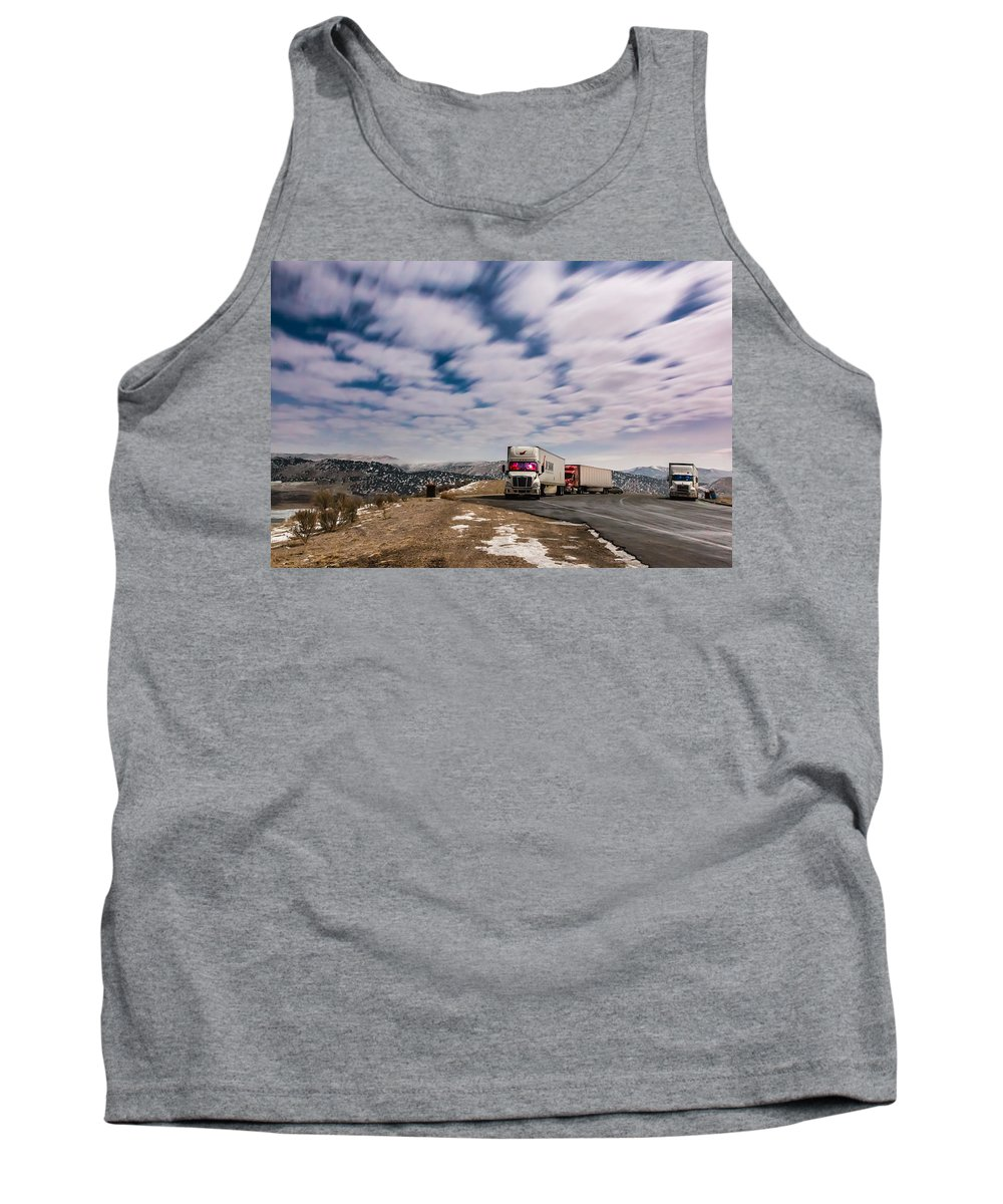 Gigimarie Tank Top featuring the photograph Rest Stop by Gina Herbert
