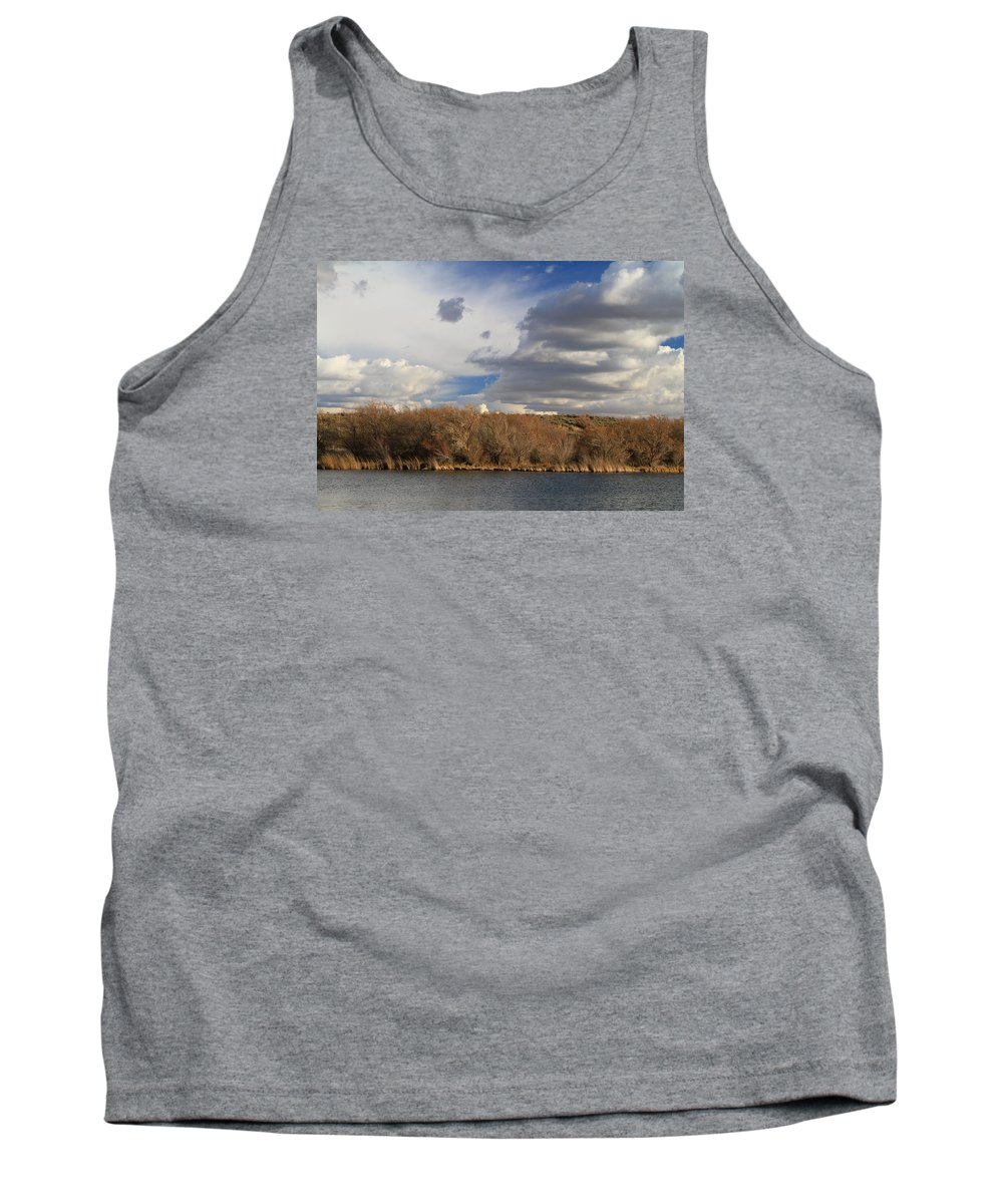Idaho Tank Top featuring the photograph Riparian Zone Snake River by Ed Riche