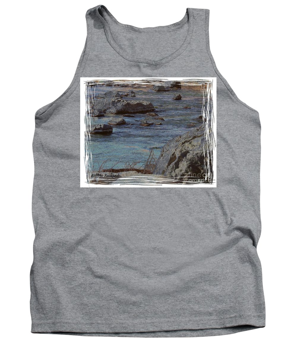 Truckee River Tank Top featuring the photograph River Flows by Bobbee Rickard