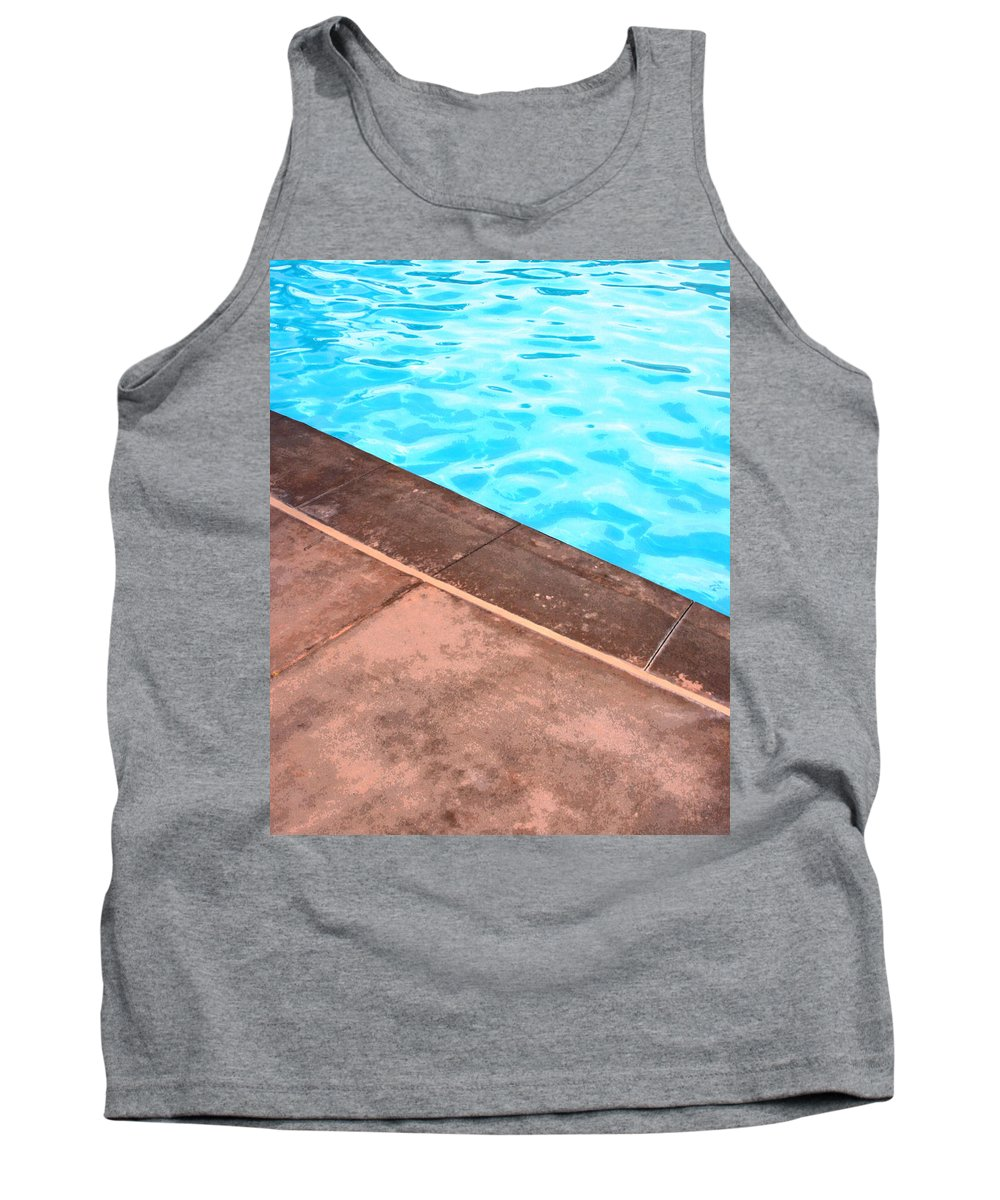 Riviera Hotel Tank Top featuring the photograph Riviera Pool Palm Springs by William Dey