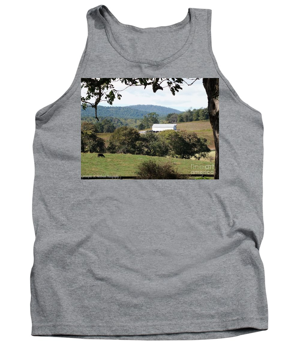 Sunlight Tank Top featuring the photograph Rolling Landscape by Christopher Westbrook