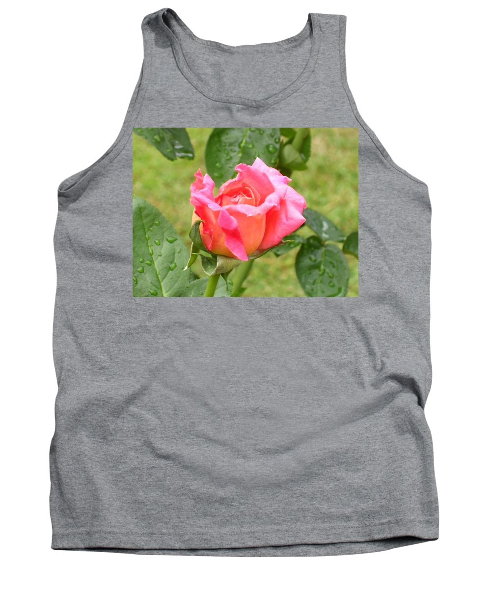 Flowers Tank Top featuring the photograph Ruffled Edges by Tammy Garner