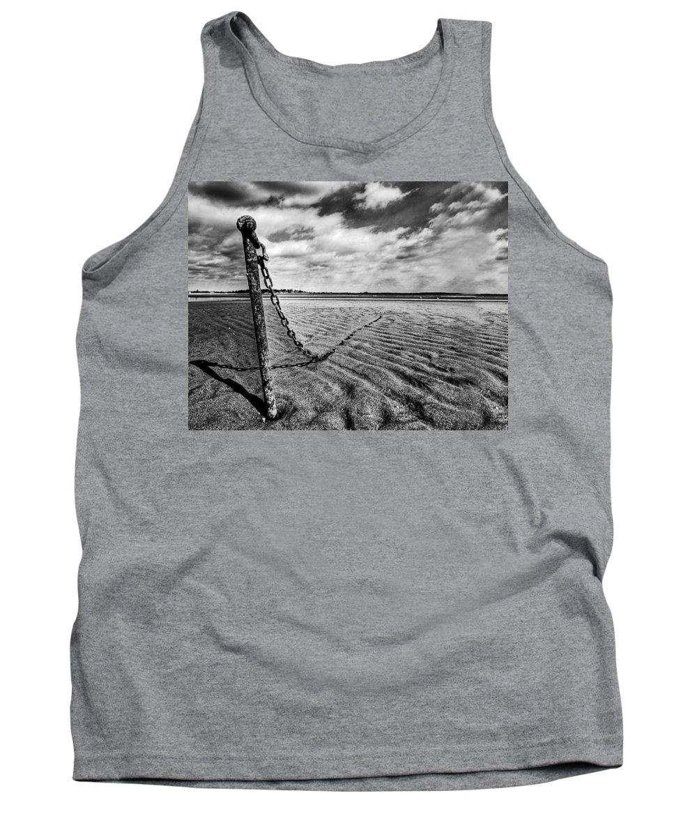 Beach Tank Top featuring the photograph Rusty Anchor by Stephanie McDowell