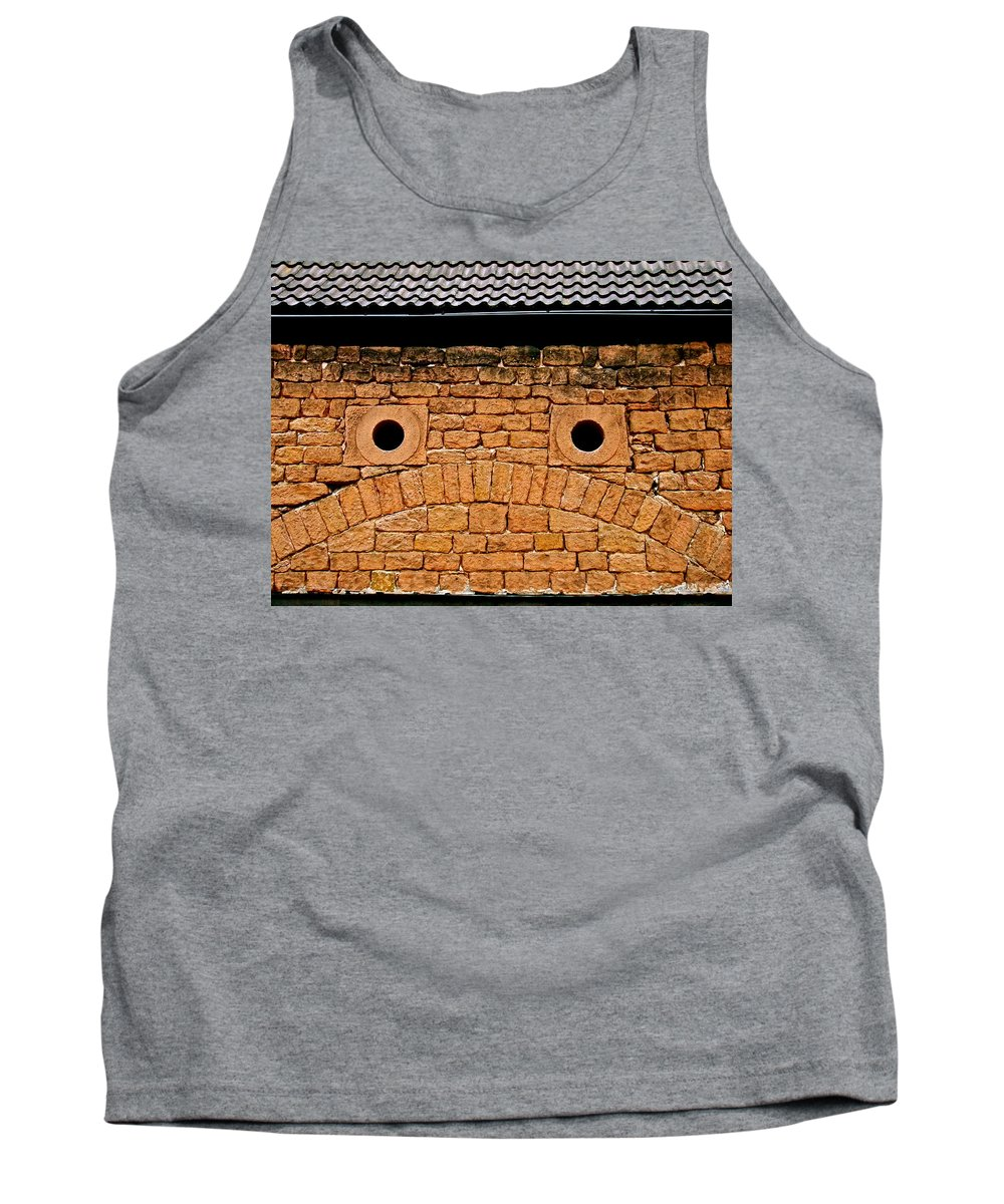 Otterburg Tank Top featuring the photograph Toad Garage by Bob and Kathy Frank