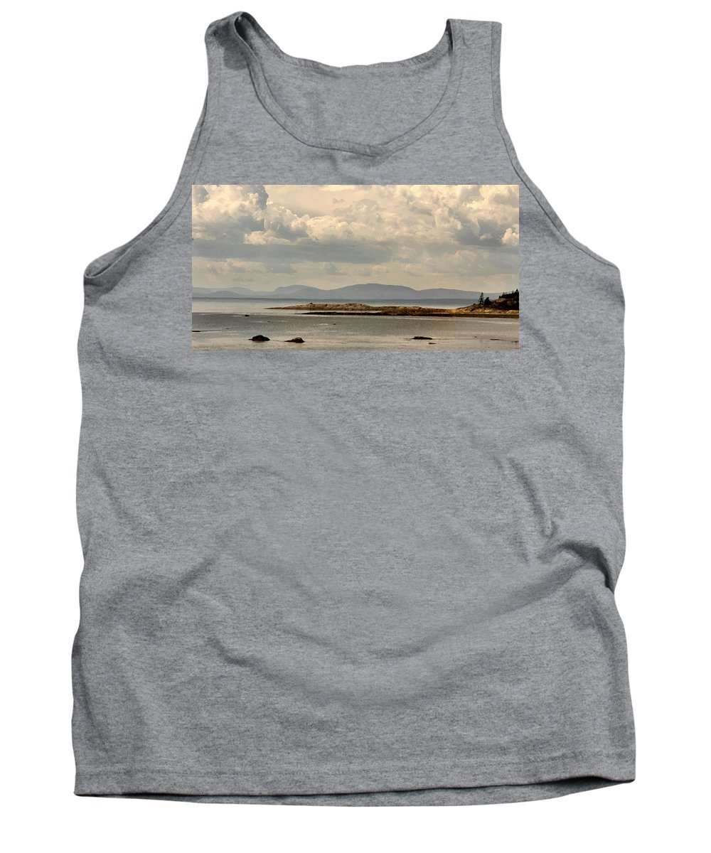 River Tank Top featuring the photograph Awesome Saint Lawrence River by Steve Archbold