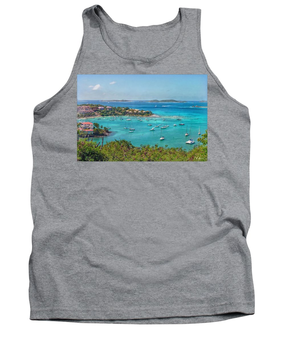 Turquois Tank Top featuring the photograph Saint Ursula And Her Virgin Followers by Hanny Heim