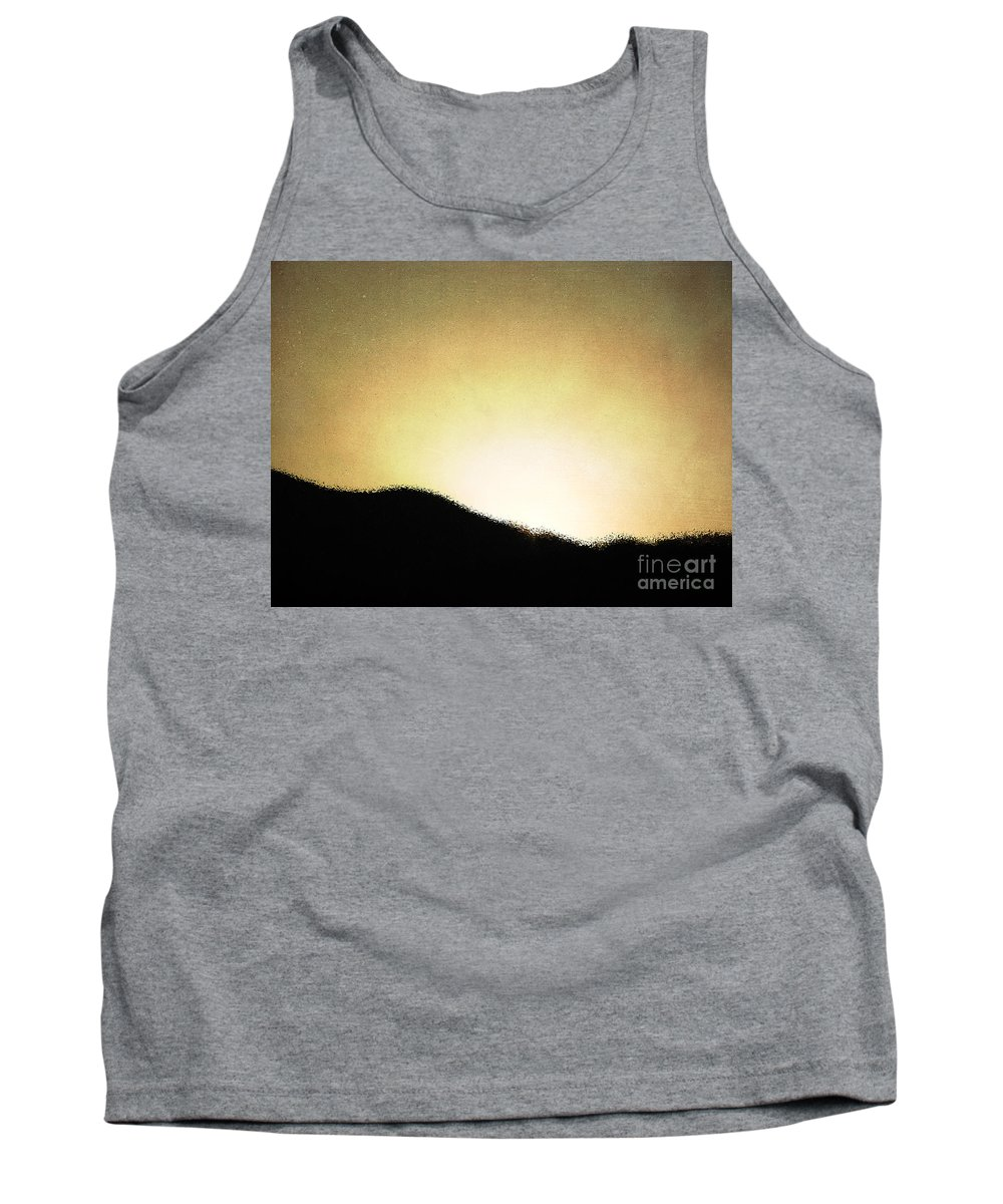 Mountains Tank Top featuring the photograph Dawn by Roselynne Broussard