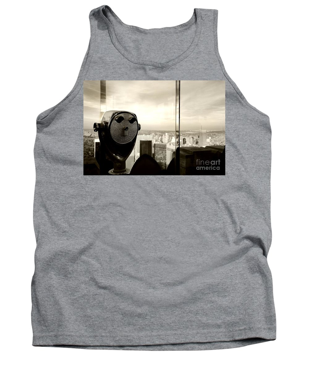 New York City Tank Top featuring the photograph See New York City Usa by Sabine Jacobs