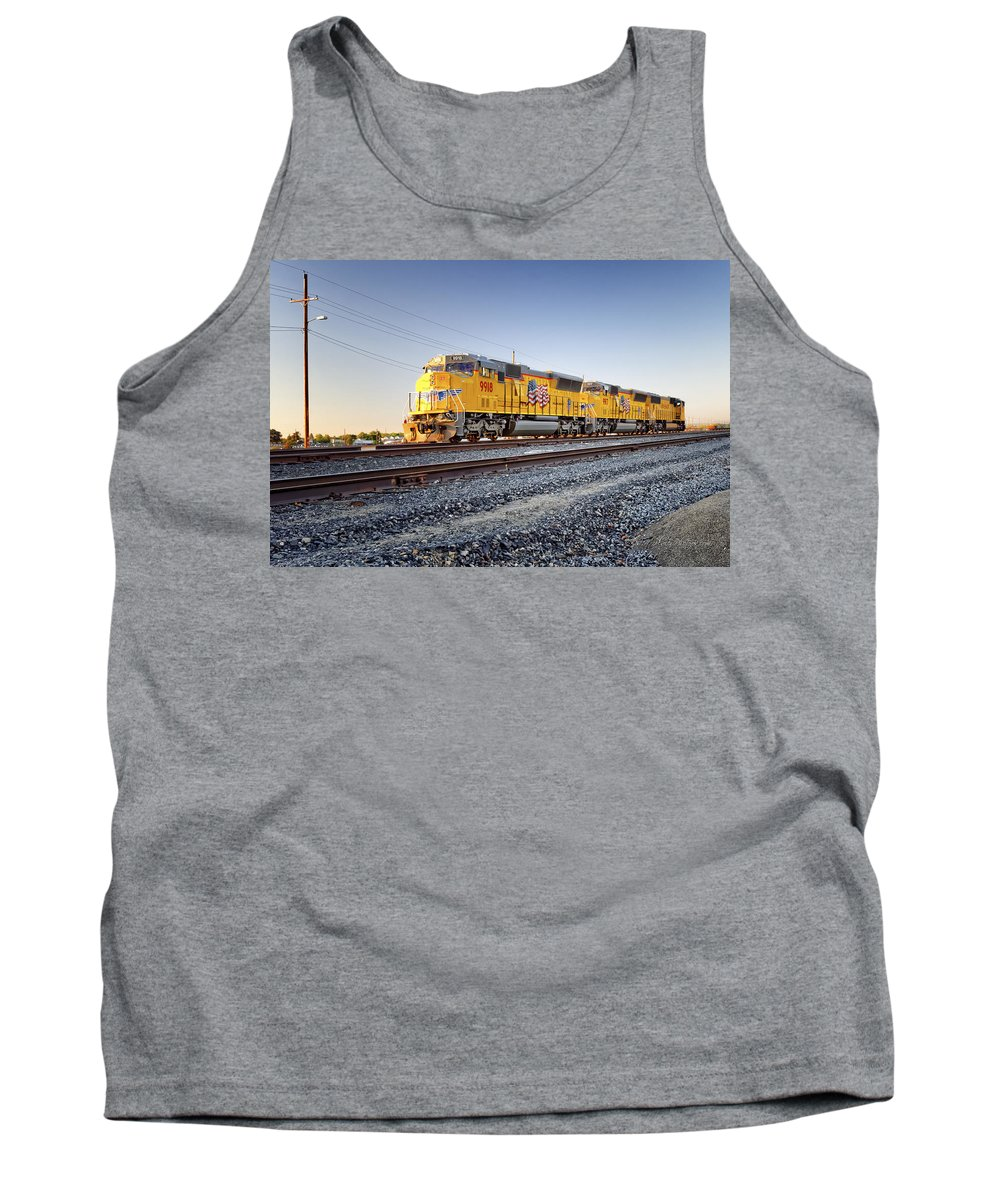 California Tank Top featuring the photograph Set Of Three by Jim Thompson