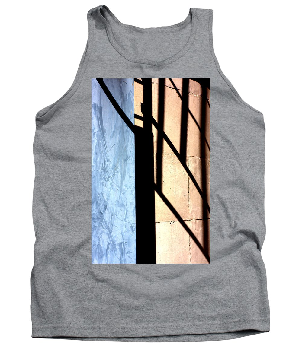 Tank Top featuring the photograph Shadows by Marcia Lee Jones