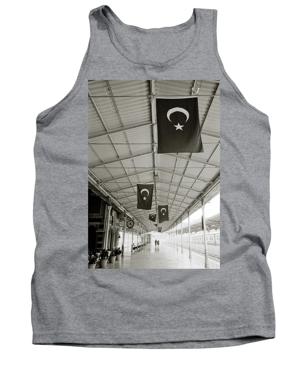 Istanbul Tank Top featuring the photograph Sirkeci by Shaun Higson
