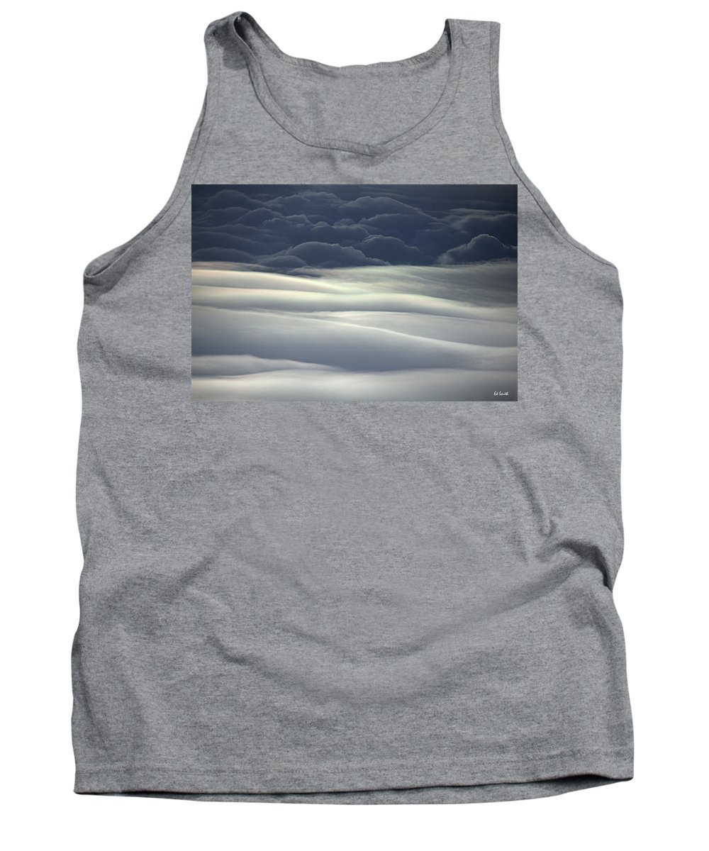 Sky Dunes Tank Top featuring the photograph Sky Dunes by Ed Smith
