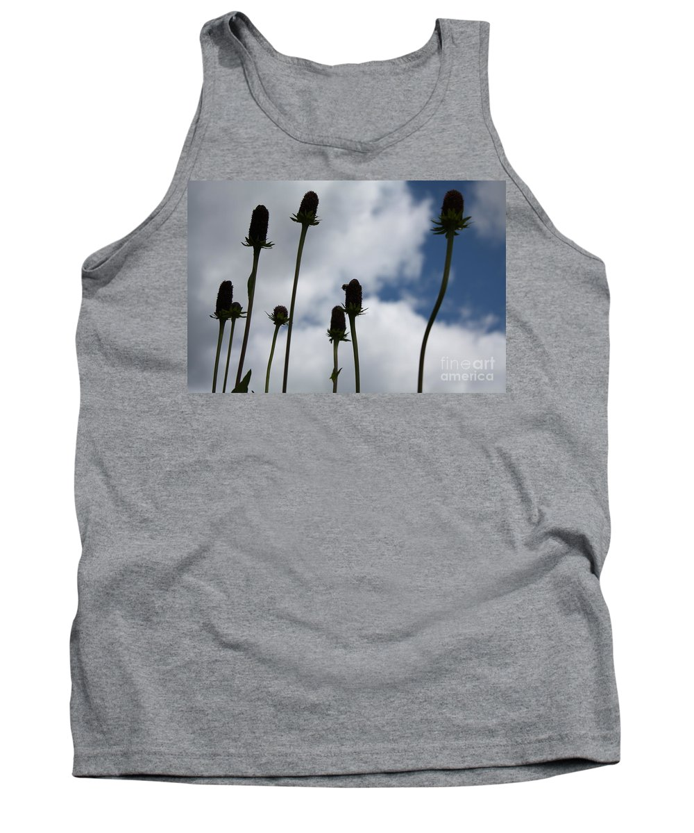 Sky Tank Top featuring the photograph Sky Flowers by Brandi Maher