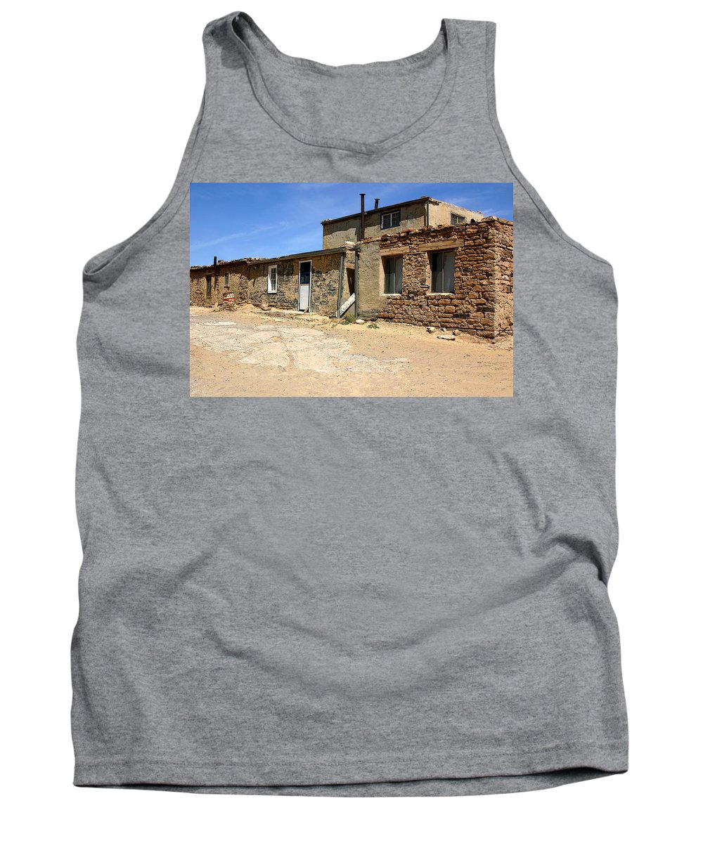 Pueblo Tank Top featuring the photograph Sky House by Joe Kozlowski