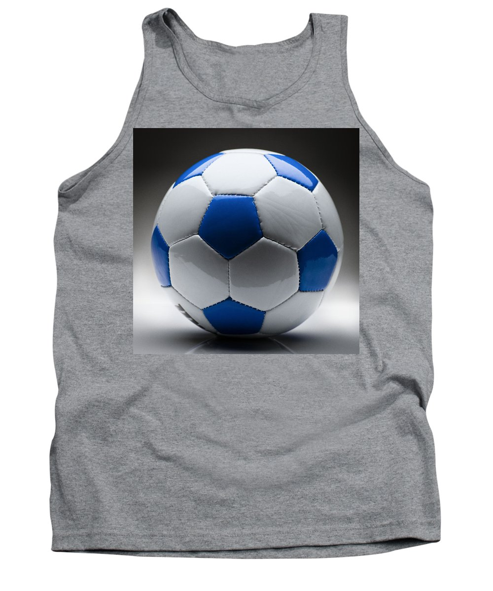 Soccer Tank Top featuring the photograph Soccer Ball by Bradley R Youngberg