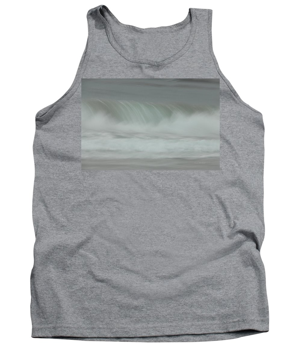 Ocean Tank Top featuring the photograph Soft Touch by Donna Blackhall