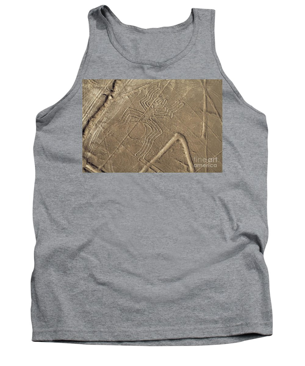 Tank Top featuring the photograph Spider In The Desert by Karla Weber