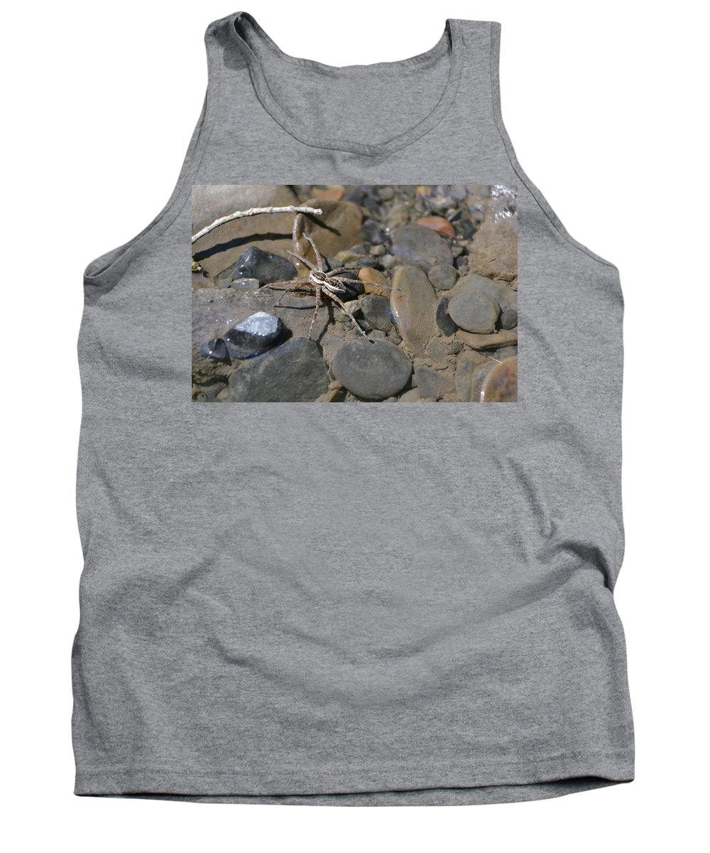 Tank Top featuring the photograph Spider by Katerina Naumenko