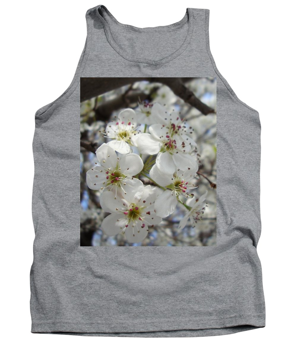Blossoms Tank Top featuring the photograph Spring Gala by Annie Adkins
