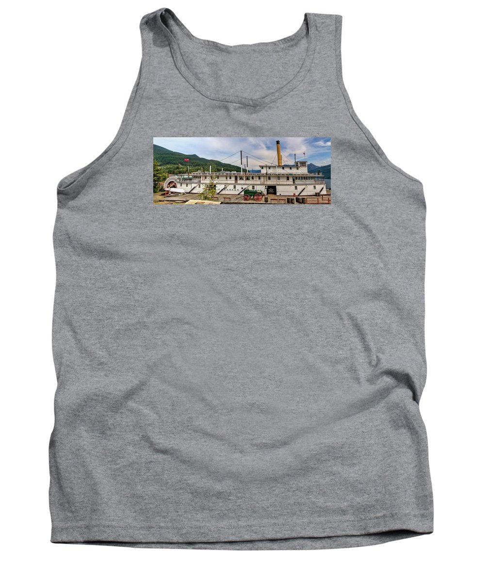 Kaslo Tank Top featuring the photograph Ss Moyie by Leon Roland