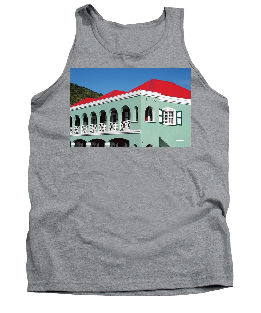Tank Top featuring the photograph St Maratan by Daniel B McNeill