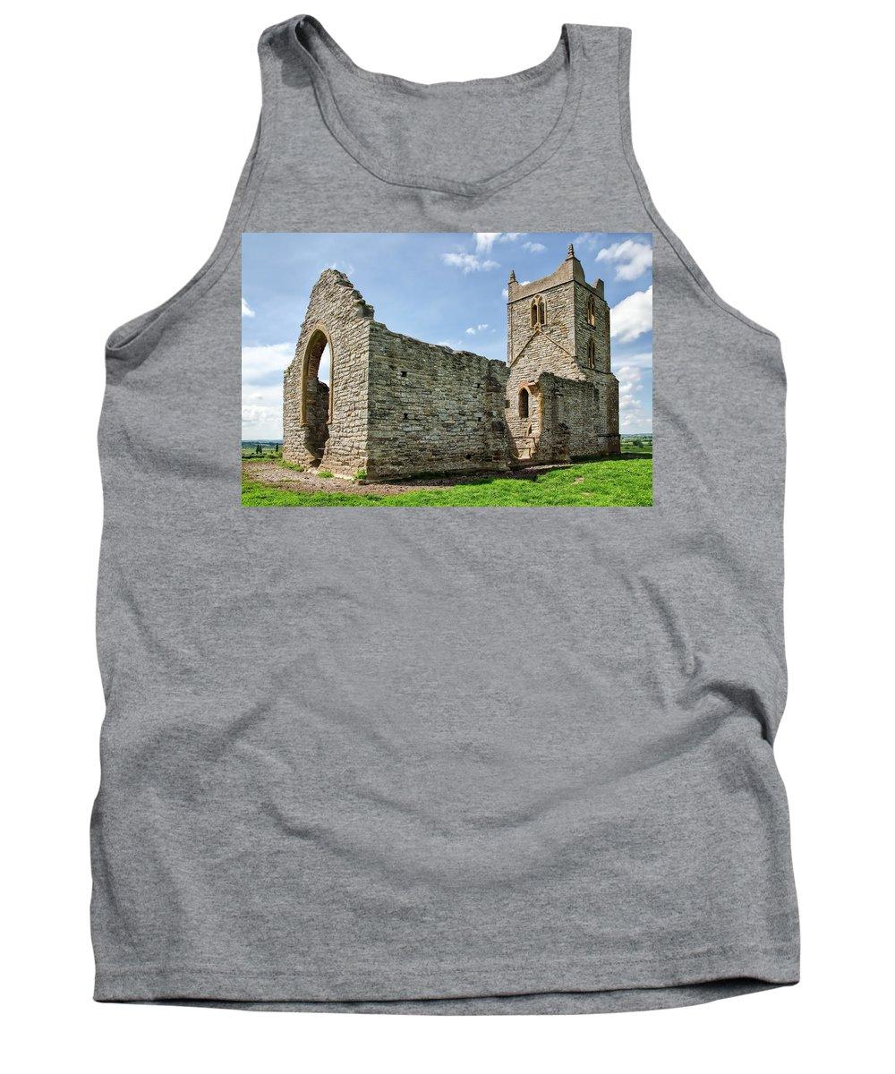 St-michael's-church Tank Top featuring the photograph St Michael's Church - Burrow Mump 5 by Susie Peek