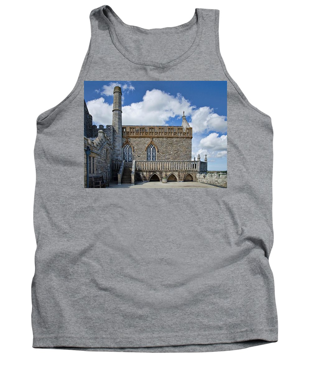 St Michaels Mount Tank Top featuring the photograph St Michael's Mount 3 by Susie Peek